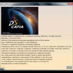 起動中のCATIAのリリースを確認