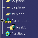 式で作成したパラメータをツリー上に表示する設定方法